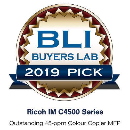 IM C4500A - BLI Pick award
